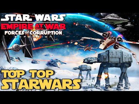 STAR WARS EMPIRE AT WAR = Um RTS no Universo STARWARS (PT/BR)