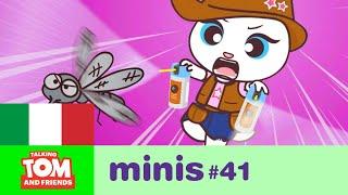 Talking Tom and Friends Minis - Bzzz! Una zanzara fastidiosa (Episodio 41)