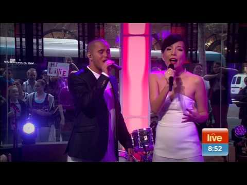 Dami Im - Endless Love (duet with Stan Walker) On Sunrise
