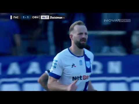 PAS Giannina OFI Crete Goals And Highlights
