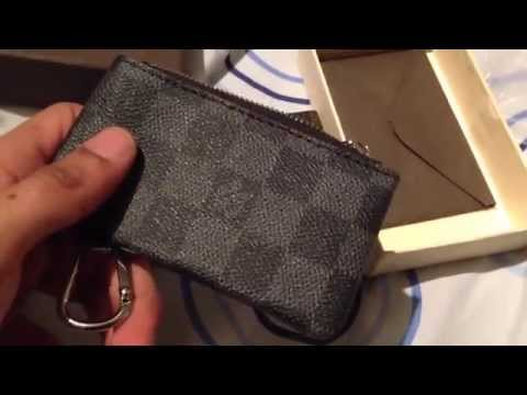 695311302521 Louis Vuitton Graphite Coin Pouch Unboxing   Aliexpress  2 - YT