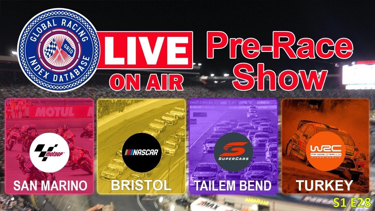 GRID Live Pre-Race 9/19/2020