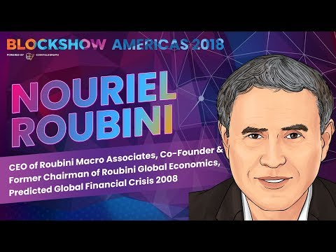 Nouriel Roubini on Signs of Crisis, Predictions for the Nearest Future and Crypto Bubble