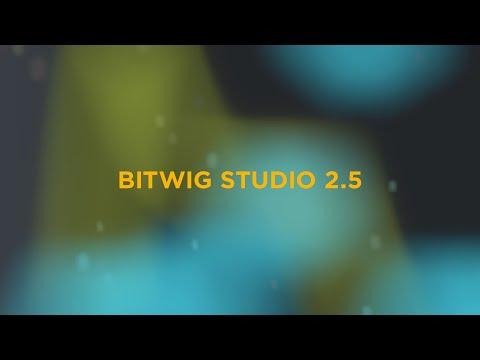 Announcing Bitwig Studio 2.5 Beta