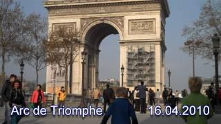 Paris with Kids - Arc de Triomphe