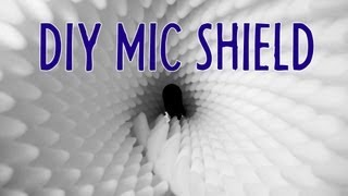 $18 DIY Mic Shield Eliminates Reverb! Indy News