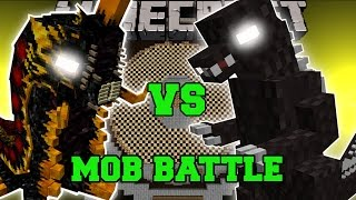 BATTRA LARVA VS GODZILLA - Minecraft Mob Battles - Minecraft Mods