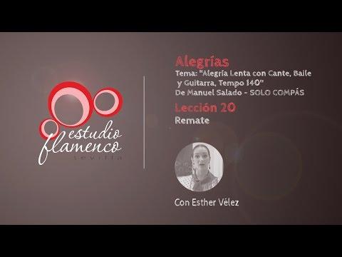 Curso Flamenco Online - 2.5 ALEGRÍAS - Solo Compás #20