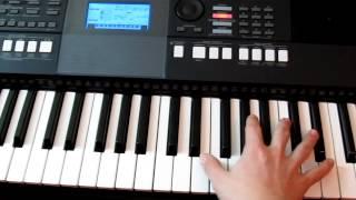 Обучение на синтезаторе Bel Suono - Te Quiero