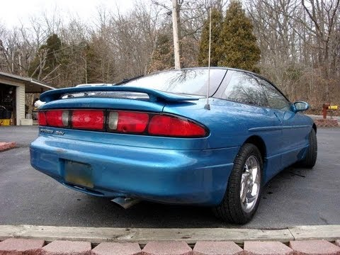 INSANE Straight Pipe Exhaust 1995 Ford Probe GT