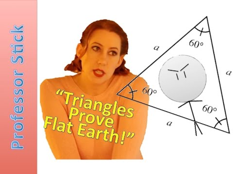Flat Earth Proven by Triangles!!