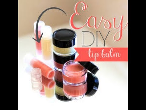 how to make lip balm youtube