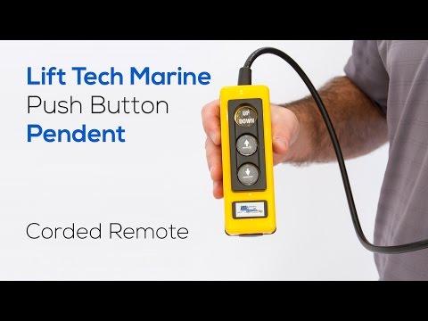 Push Button Pendant for Lift Tech Marine