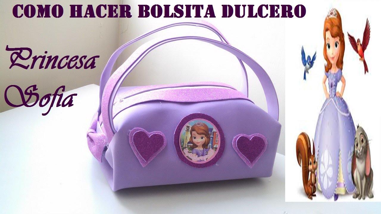 COMO HACER BOLSITA DE GOMA EVA PRINCESITA SOFIA YouTube : maxresdefault from www.youtube.com size 1280 x 720 jpeg 130kB