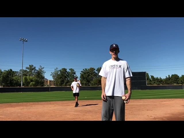 Shortstop Double Play Progression Drill