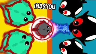 MOPE.IO BIGGEST ORCA CREW !! // FIGHTING DRAGONS AND FUNNY TROLLING ! - iHASYOU