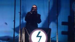 (HD) Marilyn Manson - King Kill 33° & Antichrist Superstar Live 01-12-2012 @ Rockhal, Luxembourg