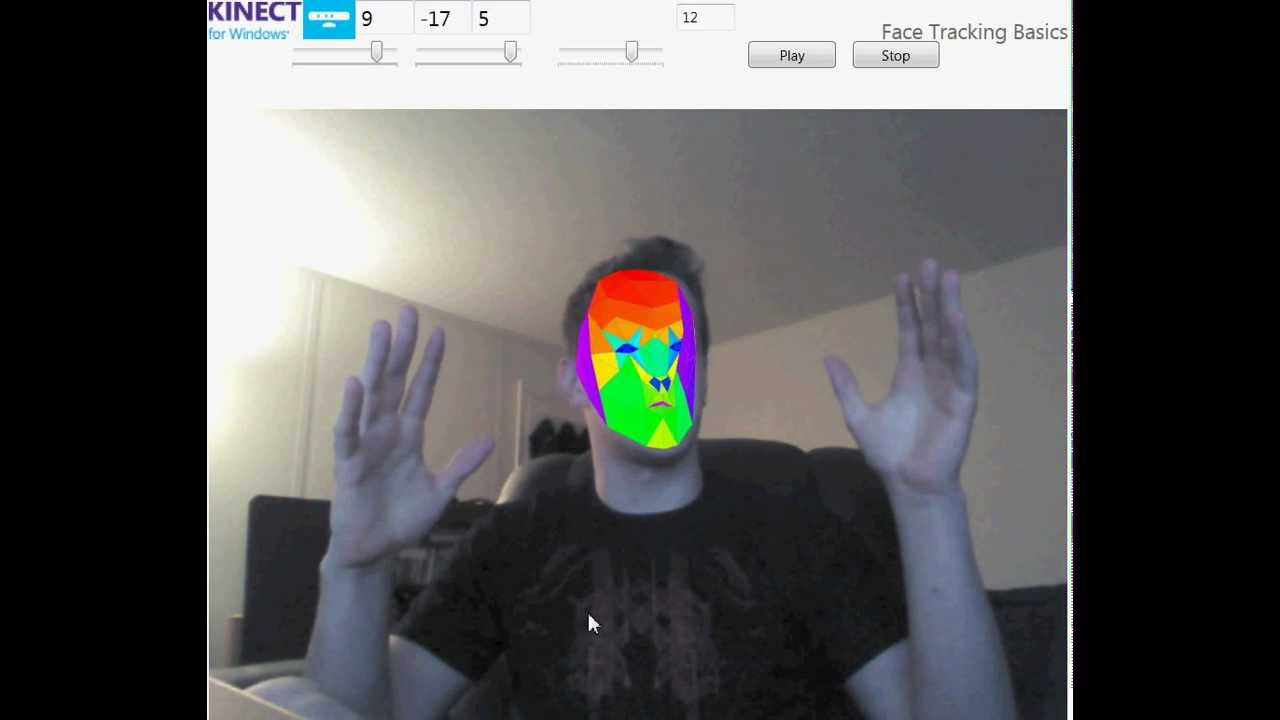 Mouse Control & Music Visualization with Face Tracking
