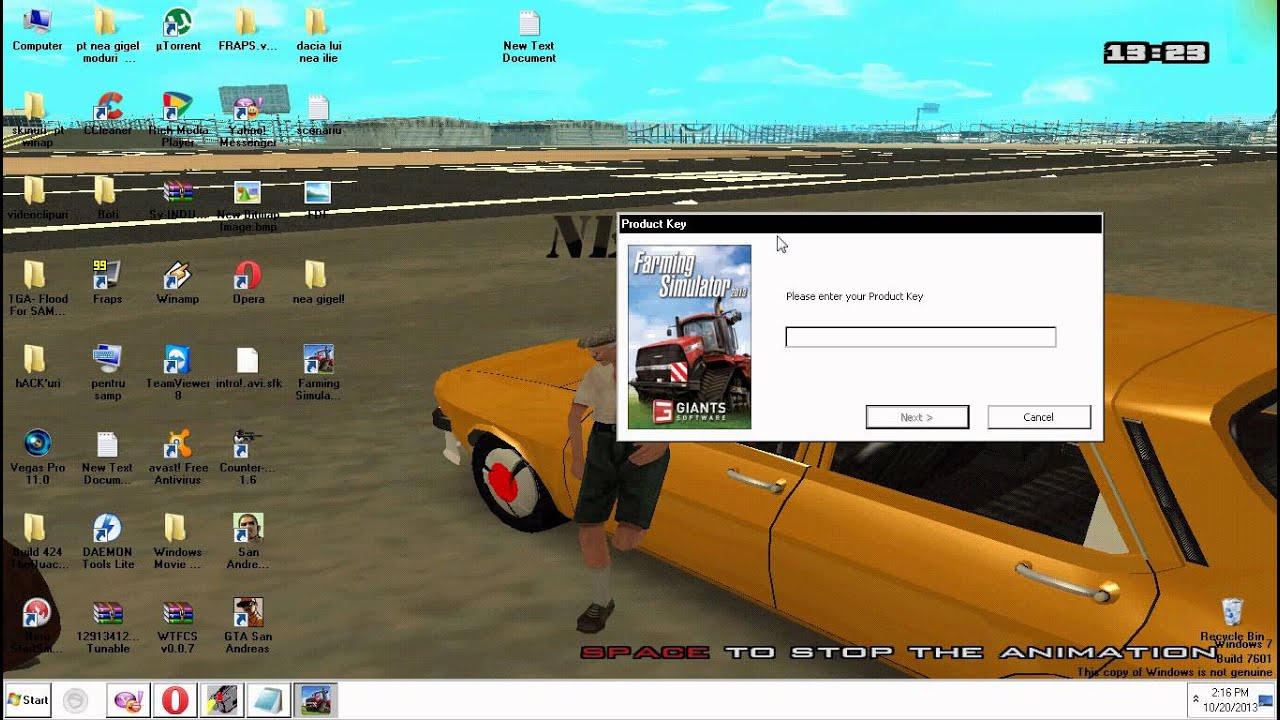 Farming simulator 2013 cd key merge 100 tutorial in romana youtube