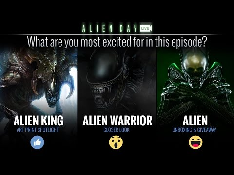 Sideshow Live - Alien Day!