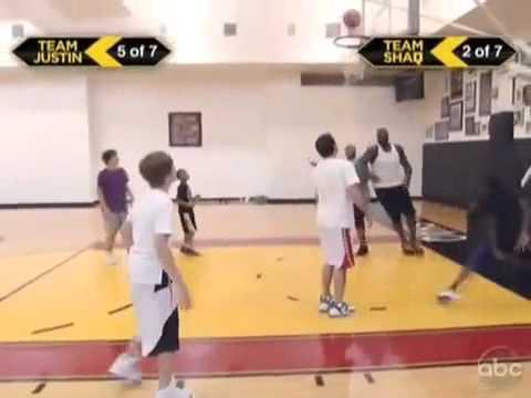 Shaq vs Justin Bieber - Basketball Challenge (Bieber beat Shaq) [Official Video]