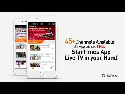 Download the StarTimes App! - YouTube