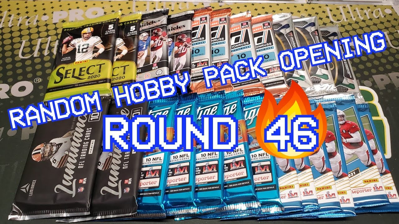 Download Random Football Card Hobby Pack Opening Round 46! Solid!!