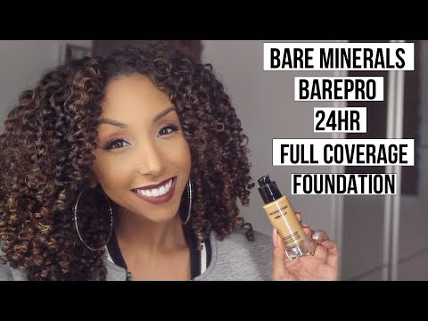 Bare Minerals BarePro Foundation Review! Foundation Friday! | BiancaReneeToday