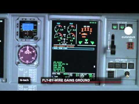 """""""Fly-by-wire"""" facilita navegação aérea"""