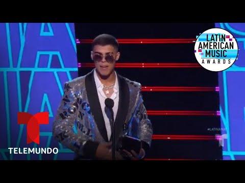 Lunay gana el premio Nuevo Artista del Año en los Latin AMAs 2019 | Latin AMAs 2019