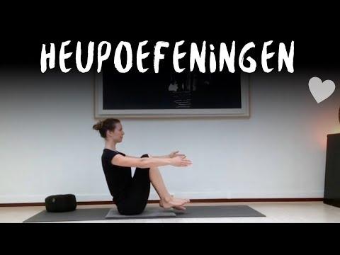 Yoga oefeningen voor sterke heupspieren