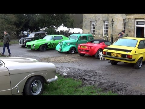 Stanmer House Classic Cars January 2020