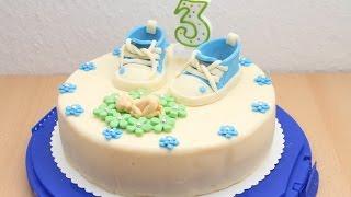 Детский торт из мастики / Украшение тортов / Торт из мастики | Fondant Cake for kids