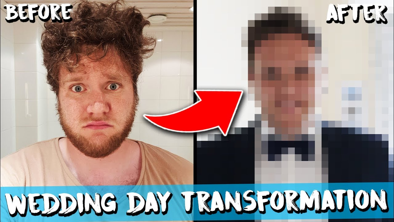MY WEDDING DAY TRANSFORMATION
