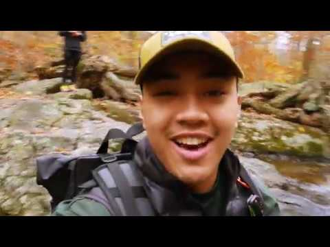 AUTUMN HIKE In 4K -  Buttermilk Falls Trail New Jersey