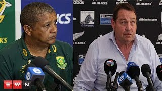 The Springboks and All Blacks held respective press conferences ahead of their match at Newlands in Cape Town.   Click here to subscribe to Eyewitness news: http://bit.ly/EWNSubscribe  Like and follow us on: http://bit.ly/EWNFacebook AND https://twitter.com/ewnupdates  Read full article on Eyewitness news: http://ewn.co.za/2017/10/01/springboks-promise-to-be-ready-for-all-blacks  Keep up to date with all your local and international news: www.ewn.co.za    Produced by: Cindy Archillies