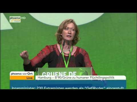 Grünen-Parteitag: Debatte um Flüchtlingspolitik (Teil 1) mit Peter & Kretschmann am 22.11.2014