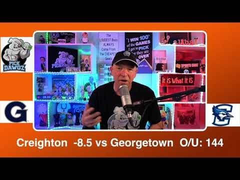 Creighton vs Georgetown 3/13/21 Free College Basketball Pick and Prediction CBB Betting Tips
