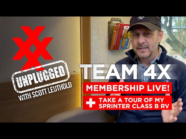 TEAM 4X Member Portal Live! PLUS, Sprinter Camper Tour and Upcoming Adventures