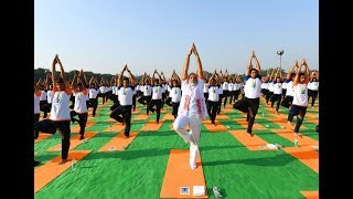 4th International Yoga Day Celebration at FRI, Dehradun