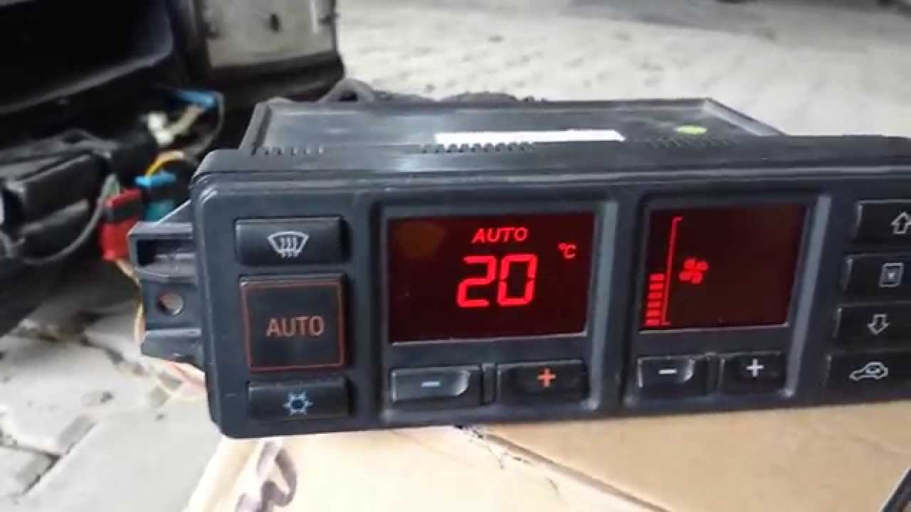 Audi C4 Climate Control Test Youtube