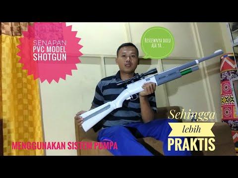 Review of PVC gun - Paralon - shotgun model