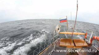 видео История путешествия под парусом по Липарским островам