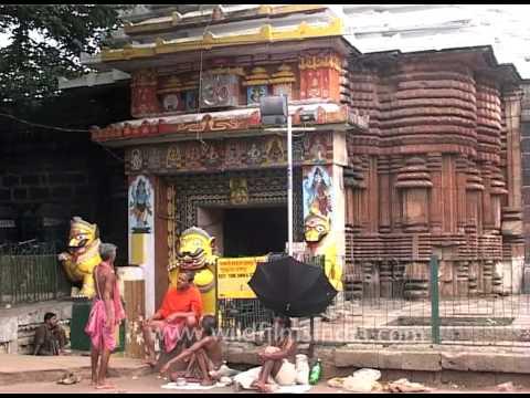 Lingaraja Temple in Bhubaneshwar, Orissa