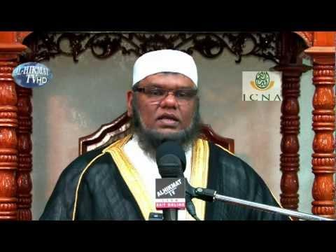 Shaykh Abdool Rahman Khan (CHAIRMAN OF ICNA SHARIAH COUNCIL)