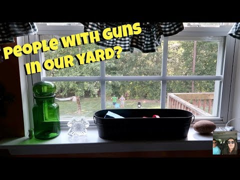 People With Guns In Our Yard & Happy Fathers Day Vlog | PaulAndShannonsLife