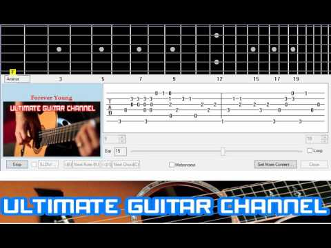 [Guitar Solo Tab] Forever Young (Alphaville)