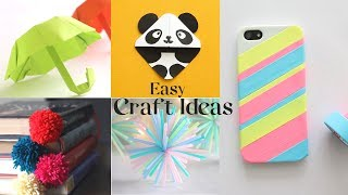 5 Easy Craft Ideas You Can Make Yourself | DIY Projects