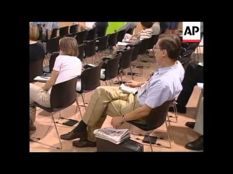 FRANCE: PARIS: WORLD CUP GOVERNING BODY FIFA PRESS CONFERENCE