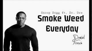 Snoop Dogg ft. Dr. Dre - Smoke Weed Everyday (Daniel Frosch Club Edit)
